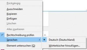 Firefox weiter Wörterbücher hizunfügen